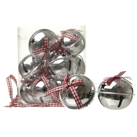 Check Ribbon Boxed Bell Set