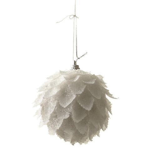 Hanging Feather Look Ball