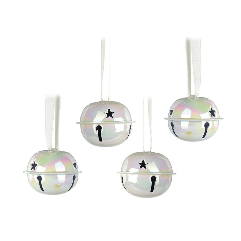 Set Of 4 Metal Bells