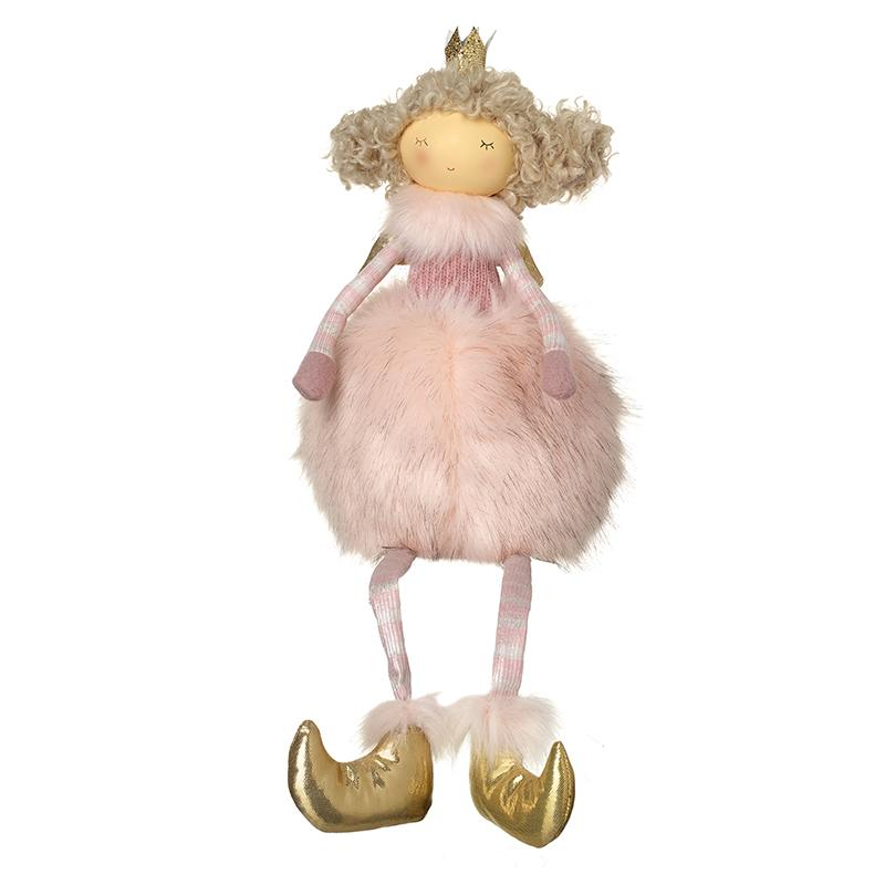 Girl With Gold Crown With Fluffy Skirt