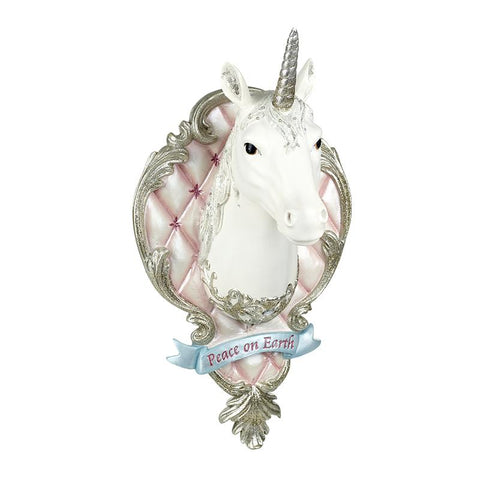 Resin Unicorn Wall Hanger