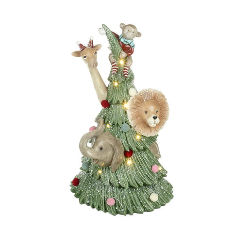 Tree With Animals Decoration