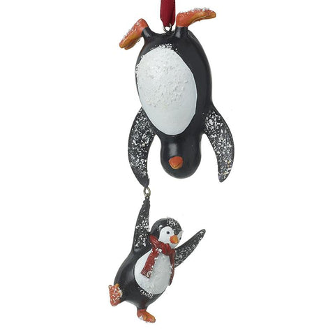 Penguin Duo Hanging Tree Decor