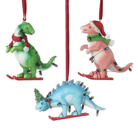 Dinosaurs On Skis Mix