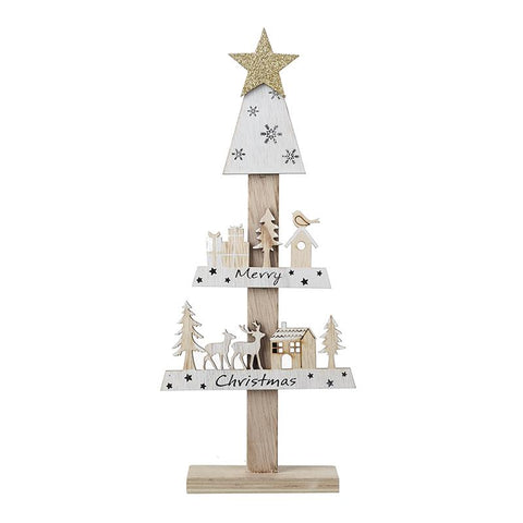 Merry Christmas Tree Shape Stand