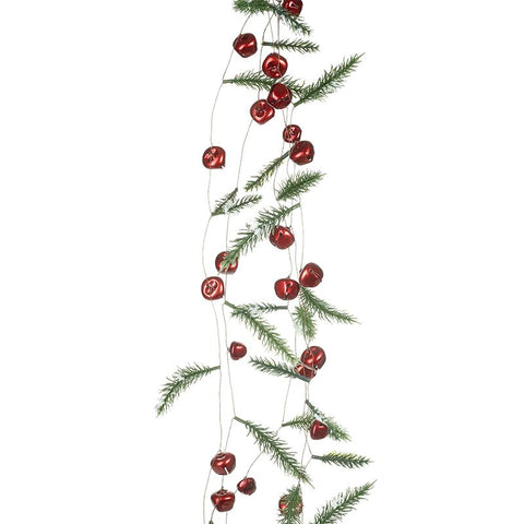 Jingle Bells Cypress Garland