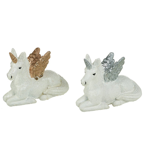 Sitting Resin Unicorns Mix