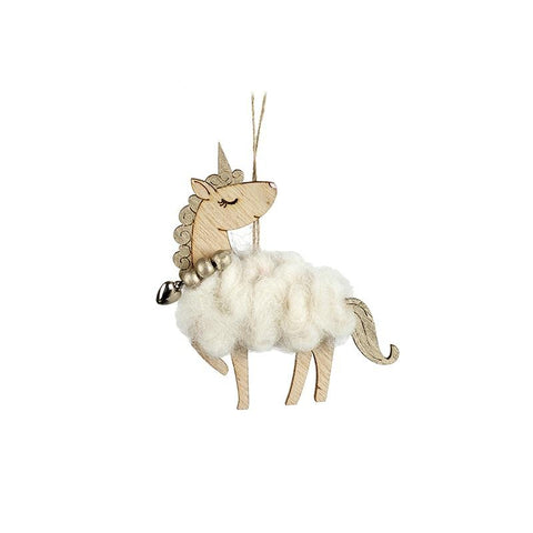 Woollen Hanging Unicorn