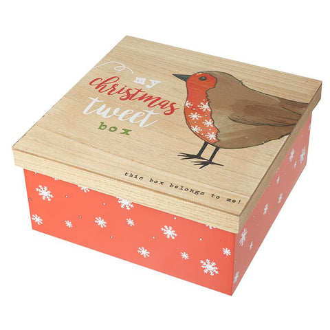 Christmas Tweet Box