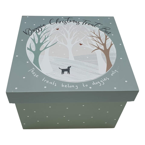 Doggie Christmas Treat Box