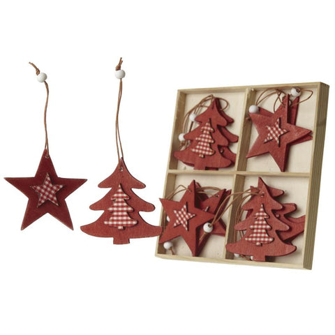 Star And Tree Hangers