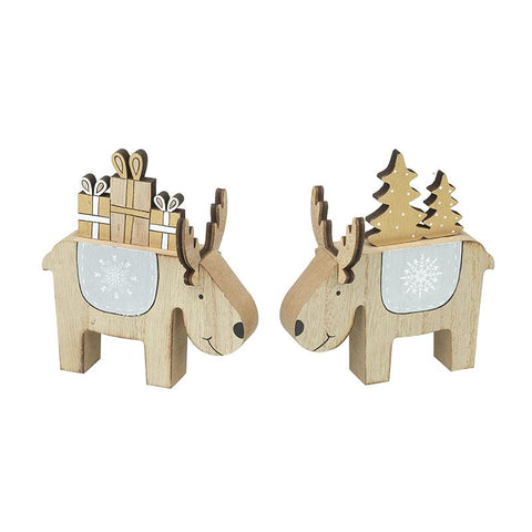 Wooden Reindeer Mix