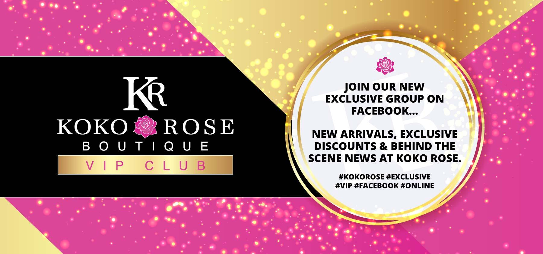 Koko Rose Gift Vouchers