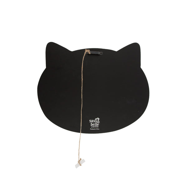 "Krijtbord ""Black Cat"""