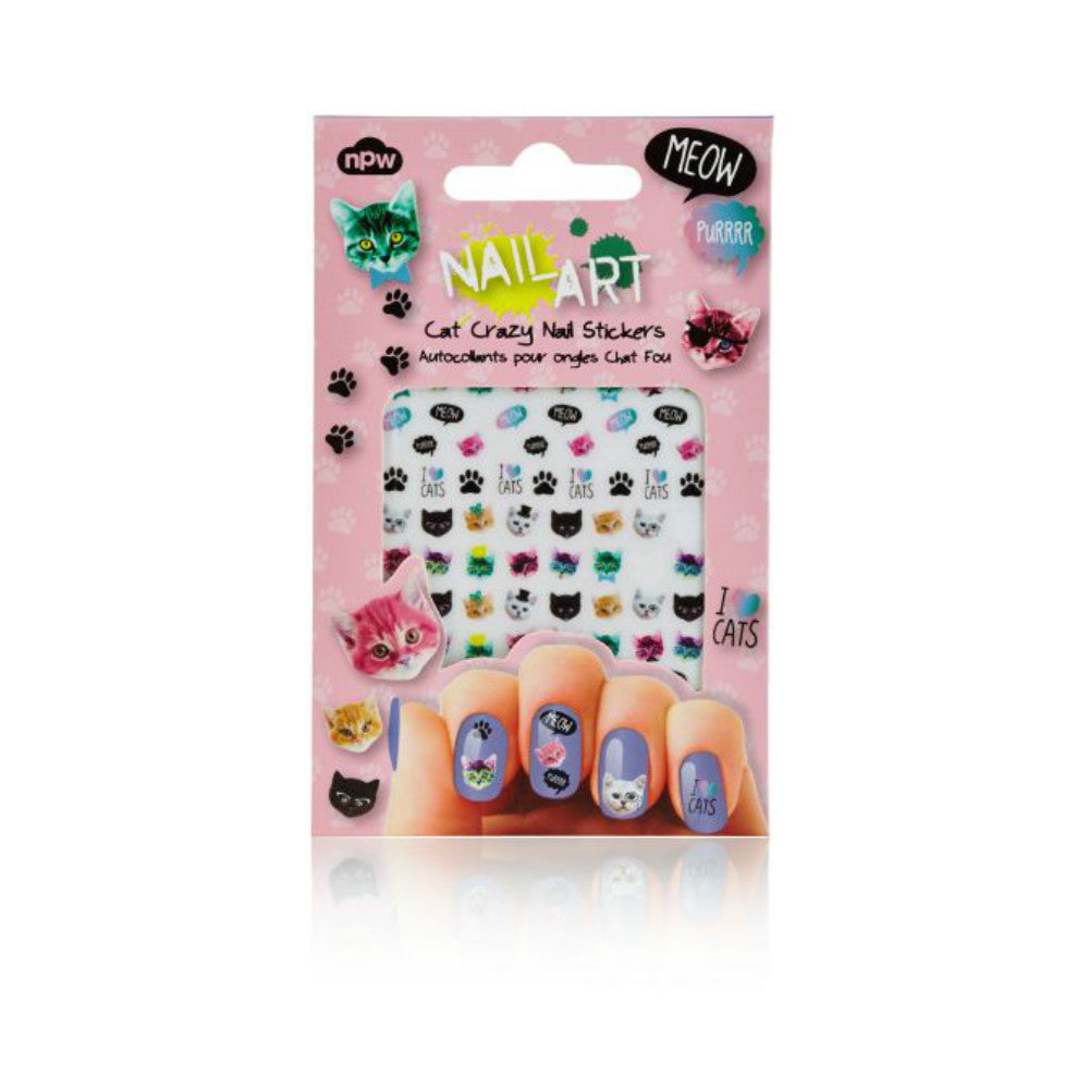 "Nagelstickers ""Crazy Cats"""