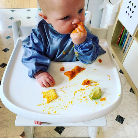 Messy Mealtime Smock