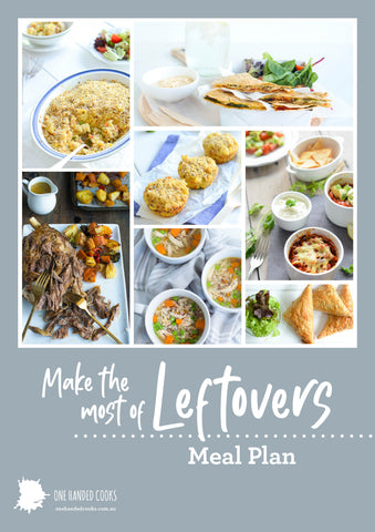 Make the Most of Leftovers Meal Plan