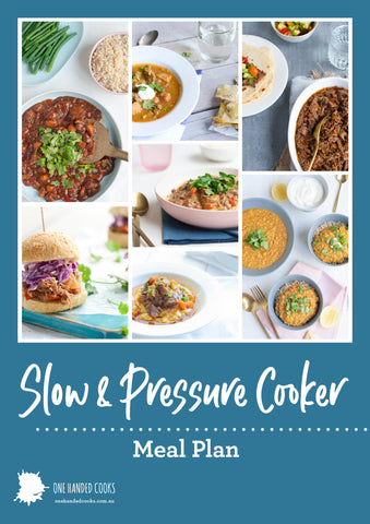 Slow & Pressure Cooker Meal Plan
