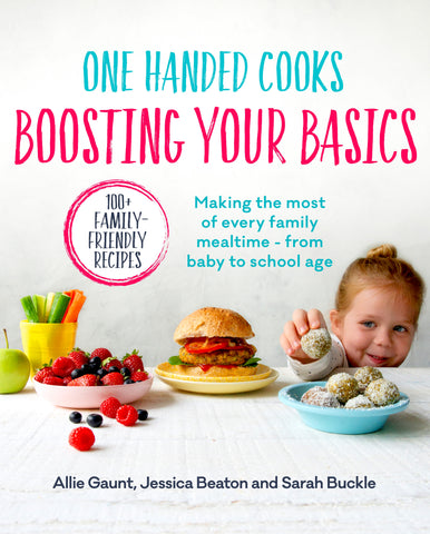 One Handed Cooks, Boosting your Basics
