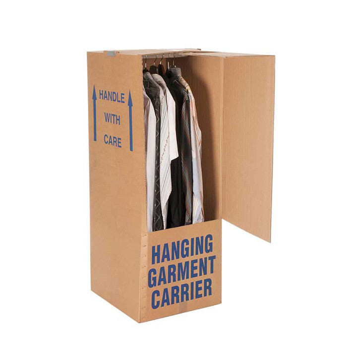 510x460x1260mm Wardrobe Carton With Rail