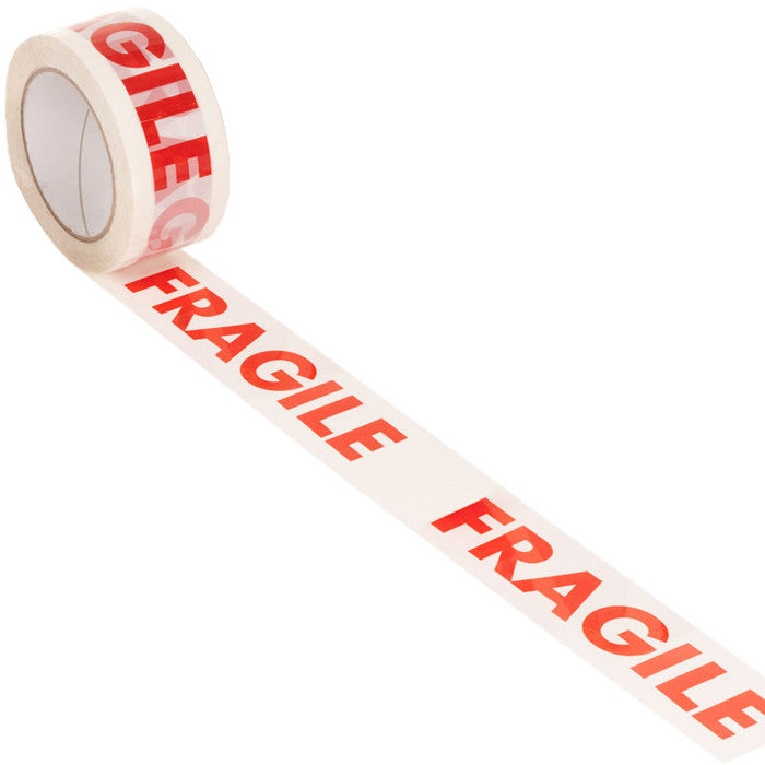 48mmx66m Fragile Polyprop Tape