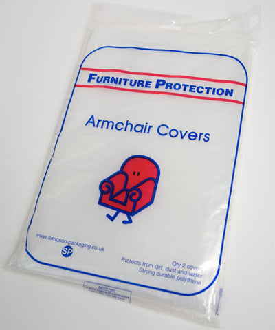 Single Armchair Polythene Cover