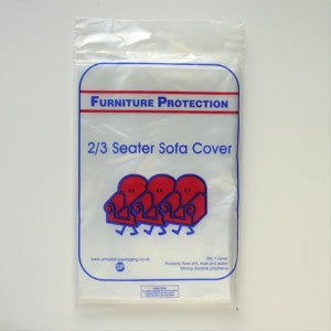 2/3 Seat Sofa Polythene Cover
