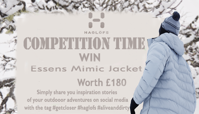 HAGLOFS COMPETITION - WIN £180 JACKET