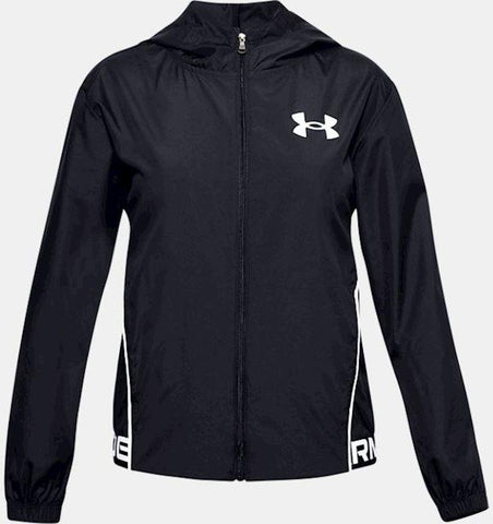 Under Armour Woven PlayUp Hooded Jacket JuniorAlive & Dirty