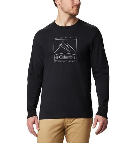 Columbia Cades Cove Long Sleeved T-Shirt MenAlive & Dirty