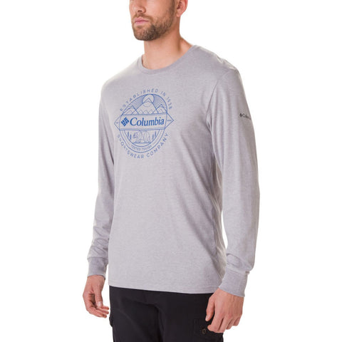 Columbia Cades Clove Long Sleeved T-Shirt MenAlive & Dirty