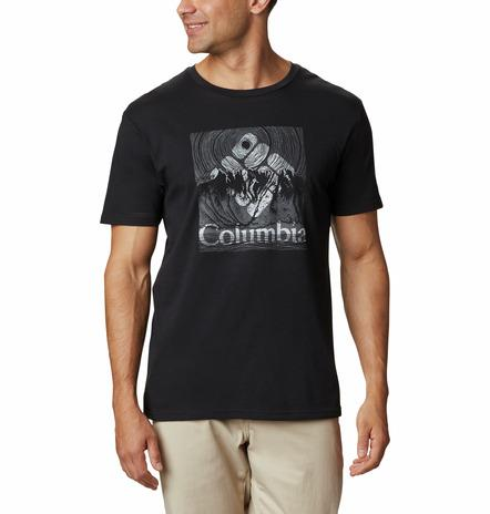 Columbia Basin Butte Short Sleeve T-Shirt MenAlive & Dirty