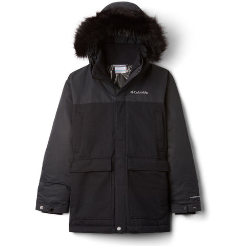 Columbia Boundary Bay™ Down Parka JuniorAlive & Dirty