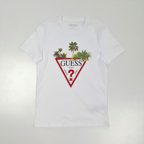Guess Palm Triangle T-Shirt MenAlive & Dirty