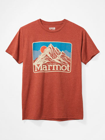 Marmot Peaks Short Sleeve T-Shirt MenAlive & Dirty