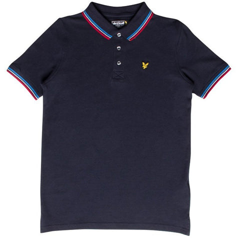 Lyle & Scott Tipped Polo Shirt JuniorAlive & Dirty