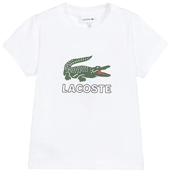Lacoste Big Logo Croc T-Shirt InfantAlive & Dirty