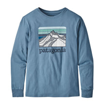 Patagonia P-6 Graphic L/S Tee JuniorAlive & Dirty