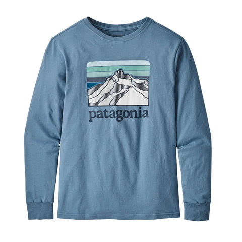 Patagonia P-6 Graphic Ls Tee juniorAlive & Dirty