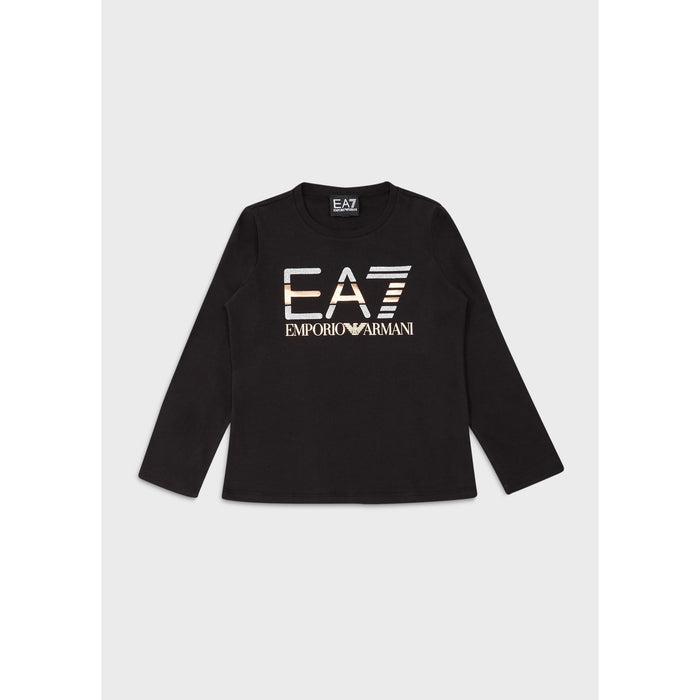 Emporio Armani EA7 Big Logo Long Sleeve T-Shirt JuniorAlive & Dirty