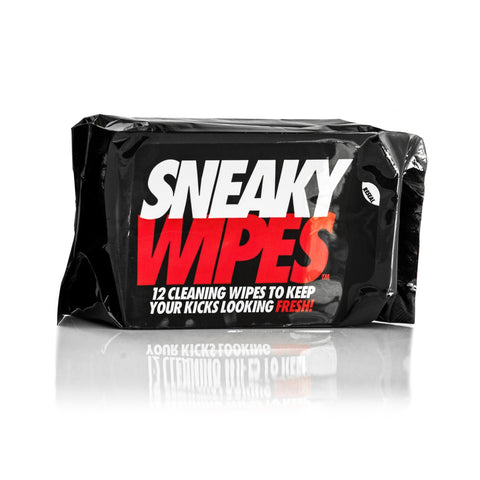 Sneaky Wipes - Shoe and Trainer Cleaning Wipes - 12 PackAlive & Dirty