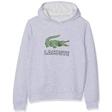 Lacoste Big Logo Croc Hoodie InfantAlive & Dirty