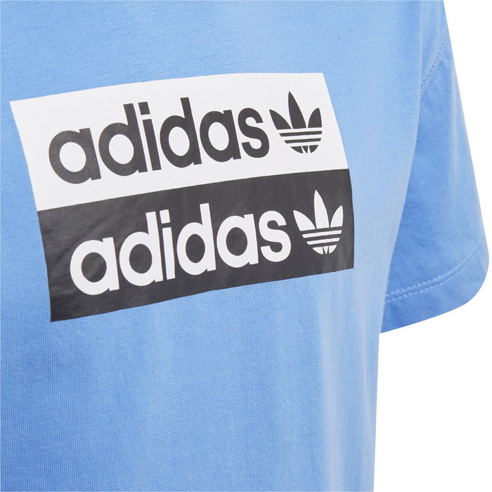 adidas Originals V-ocal T-Shirt JuniorAlive & Dirty