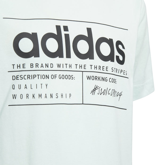 adidas BB T-Shirt JuniorAlive & Dirty