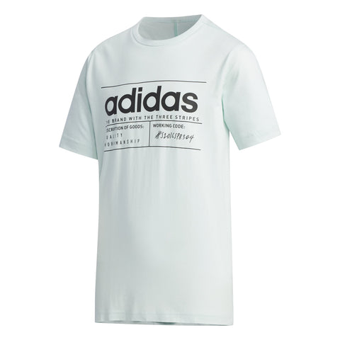 adidas BB Tee JuniorAlive & Dirty