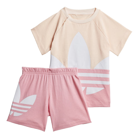 adidas Originals Trefoil T-Shirt/Short BabyAlive & Dirty