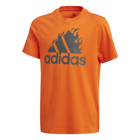 adidas Badge of Sport Graphic T-Shirt JuniorAlive & Dirty