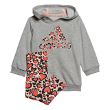 adidas Hooded Dress & Legging Set BabyAlive & Dirty