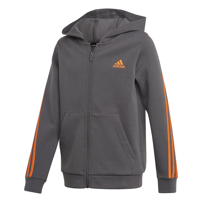 adidas 3-Stripe Full-Zip Tracksuit JuniorAlive & Dirty