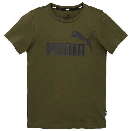 Puma Ess Logo Tee JuniorAlive & Dirty